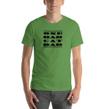 Load image into Gallery viewer, ONE RAD CAT DAD | Short-Sleeve Unisex T-Shirt