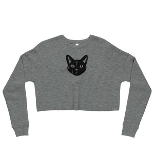 MIKITA Face | Crop Sweatshirt