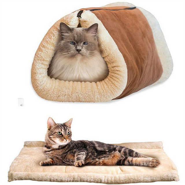 Large One Size Free Shipping Cat House Cat Nest Buckskin Cat Supplies 2017 New Zipper Cat Carriers
