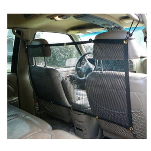 Outdoor Travel Dog Cat Car Seat Back Net Mesh Barrier Protector Safety Nets Pet Supply