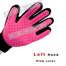 Silicone Cat pet Finger Brush Glove For Cat Dog Efficient Massage Grooming Cleaning Supplies For Pet Washing Gloves hair comb
