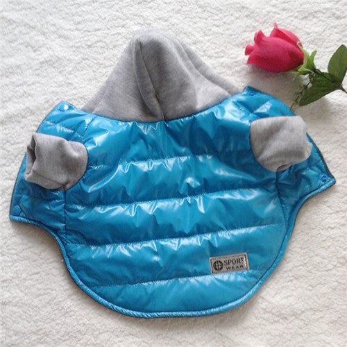 Fashion Pet Dog Jacket Coat Thickening Winter Warm Puppy Dog Clothes Outfit Hooded Clothing Apparel For Small Dogs Chihuahua