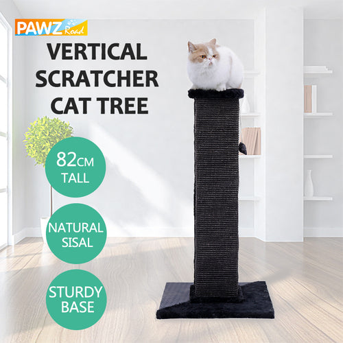 Domestic Delivery H82cm Cat Scratching Post Eco-friendly Non-Toxic Soft Multi-functional Furniture.