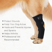 Dog Support Pet Knee Pad/ Recovery Injury/ Pet Hock Brace for Hind legs.