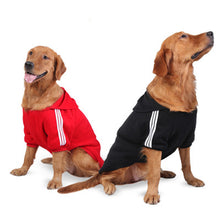 Big Dog Clothes Sportswear Warm Coat Jacket Outwear 2XL-6XL small Dogs Outdoor Hoodie Apparel for Golden Retriever Labrador