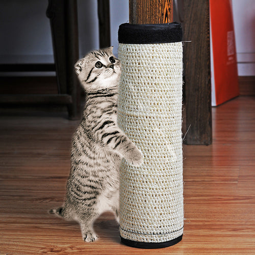 1pc Non-Toxic Sisal Hemp Furniture Protecting Cat scratching Post