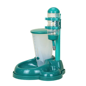 Automatic Pet Feeder/drinker Adjustable Flow & Lift Height. Free Shipping.