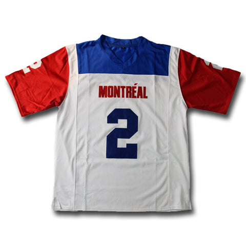 Manziel #2 Montreal  White Football Jersey