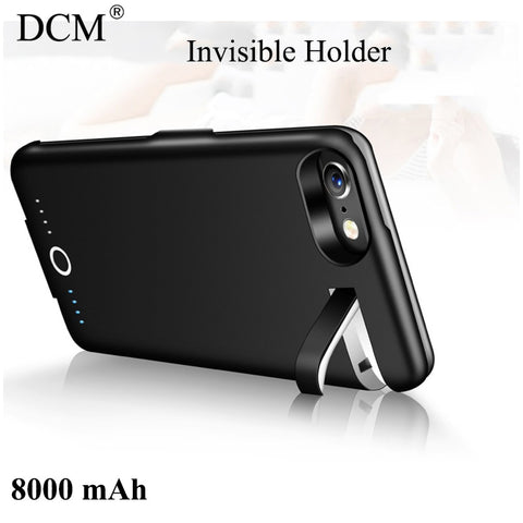 DCM iPhone 7 8 8000mAh Battery Charging Phone Case