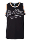 Notorious B.I.G. Biggie Smalls Bad Boy Basketball Jersey Stitched - Black