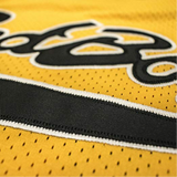 Notorious B.I.G. Biggie Smalls Bad Boy Basketball Jersey Stitched - Yellow