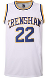 Quincy McCall Crenshaw High Love and Basketball Basketball Jersey Stitched - White