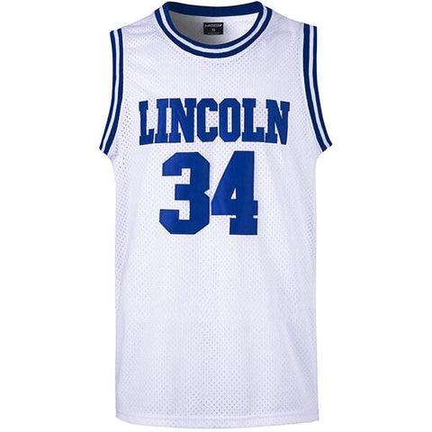 Jesus Shuttlesworth He Got Game Lincoln Jersey - Blue or White