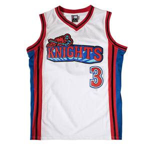 Calvin Cambridge Knights Like Mike Basketball Jersey Stitched - White