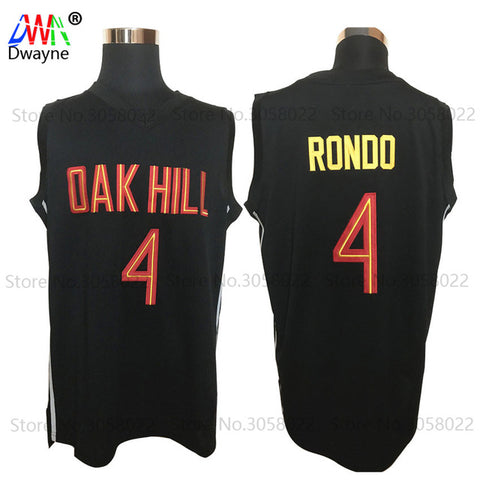 Rajon Rondo #4 Oak Hill Academy High School Basketball Jersey