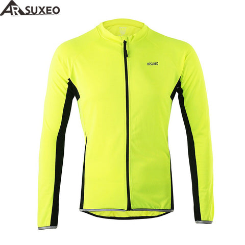 Outdoor Sports Cycling Biking Long Sleeve Jersey