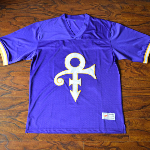 Prince Purple Rain Football Jersey Stitched - Purple 5633ff4b7