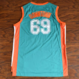 Downtown Flint Tropics Basketball Jersey Stitched - Green