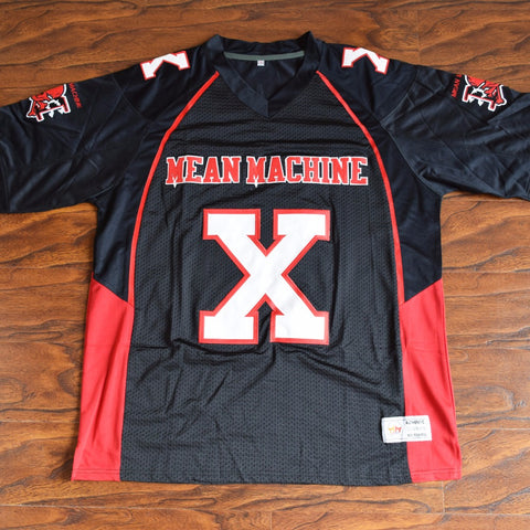 The Hammer Battle X Mean Machine Football Jersey Stitched - Black