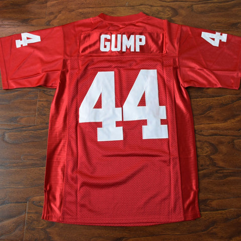 Forrest Gump Football Jersey Stitched - Red