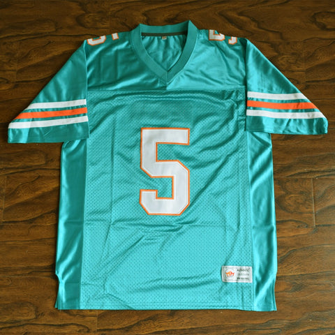 Ray Finkle Ace Ventura Football Jersey Stitched - Green