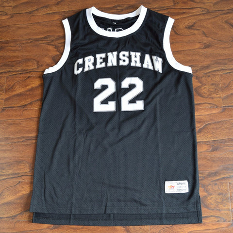 Quincy McCall Love and Basketball Crenshaw High School Basketball Jersey - Black