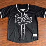 Biggie Bad Boy Baseball Jersey Stitched - Black