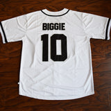 Biggie Bad Boy Baseball Jersey Stitched - White