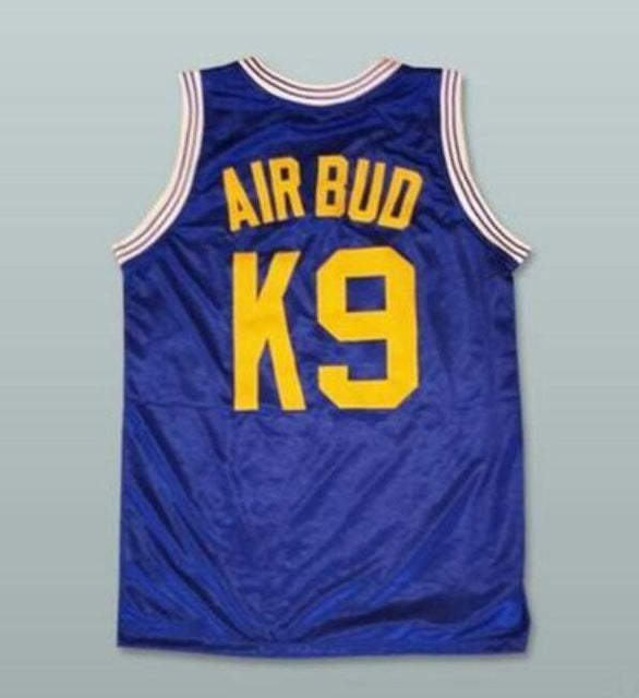 Air Bud K9 Timberwolves Basketball Jersey Stitched Blue The
