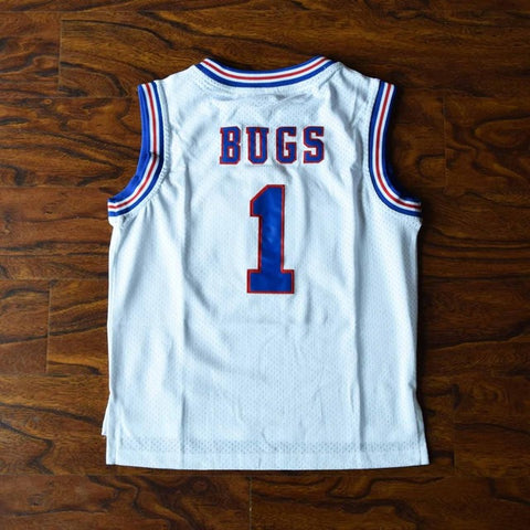Youth Bugs Bunny Space Jam Tune Squad Jersey - White