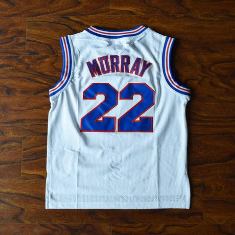 Youth Murray Space Jam Tune Squad Jersey - White