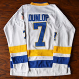 Reggie Dunlop Slap Shot Charlestown Chiefs Hockey Jersey - White
