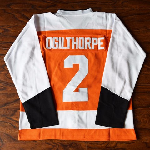 Ogie Ogilthorpe Slap Shot Syracuse Bulldogs Hockey Jersey Stitched