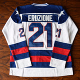 Mike Eruzione Miracle on Ice USA Hockey Jersey Stitched - White