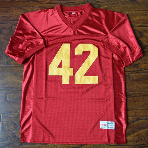 Ricky Baker Boyz N Tha Hood Football Jersey Stitched - Red