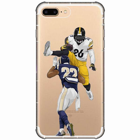 Le'Veon Bell Running iPhone Case