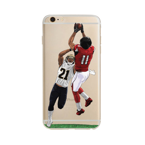 "Julio Jones Touchdown ""Statement"" iPhone Case"