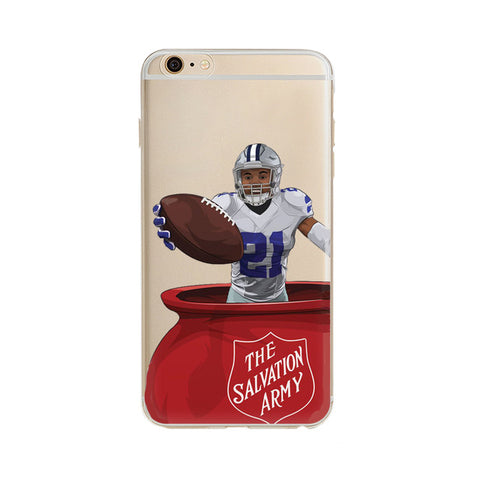 "Ezekiel Elliot Salvation Army ""Statement"" iPhone Case"