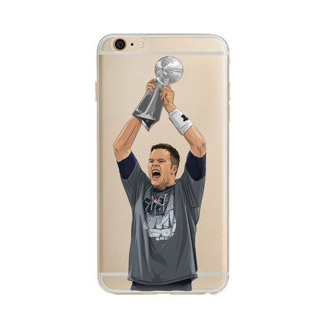 "Tom Brady Super Bowl Champ ""Statement"" iPhone Case"