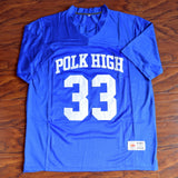 Al Bundy Polk High Football Married With Children Jersey Stitched - Blue