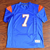 Alex Moran Blue Mountain State Football Jersey Stitched - Blue