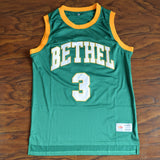 Allen Iverson Bethel High Basketball Jersey Stitched - Green