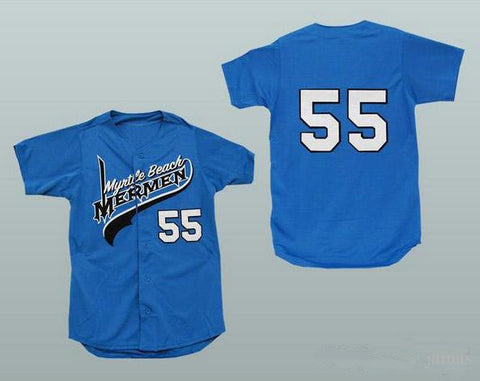 Kenny Powers Myrtle Beach Mermen Jersey - Blue