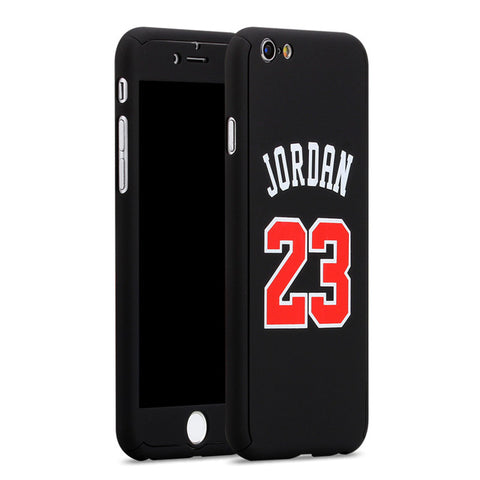 Michael Jordan Nameplate iPhone Case - Black
