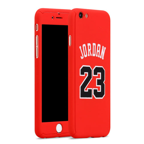 Michael Jordan Nameplate iPhone Case - Red
