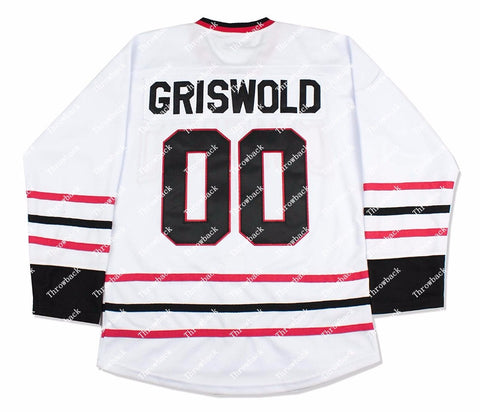 Christmas Vacation #00 Clark Griswold National Lampoons Hockey JerseyStitched