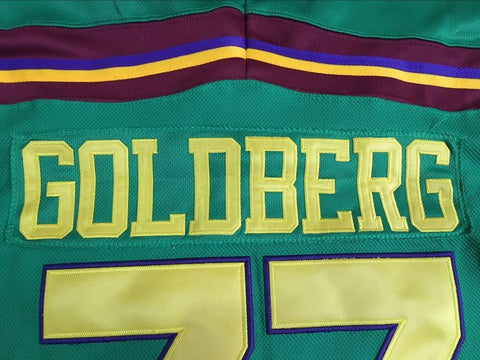 8d3ff20b09c Greg Goldberg Mighty Ducks Stitched Hockey Jersey – The Jersey Kings