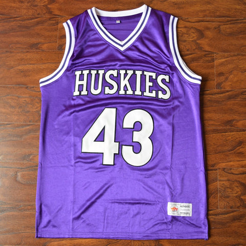Kenny Tyler Huskies Basketball Jersey Stitched - Purple