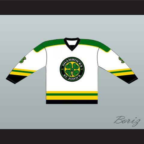 Ross The Boss Rhea St John's Shamrocks Goon Hockey Jersey - White