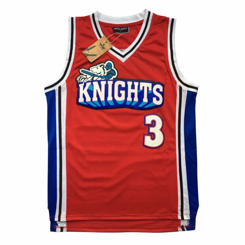 Calvin Cambridge Knights Like Mike Jersey - Red
